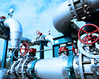 Industrial Power Plant Equipment, Cables & Piping